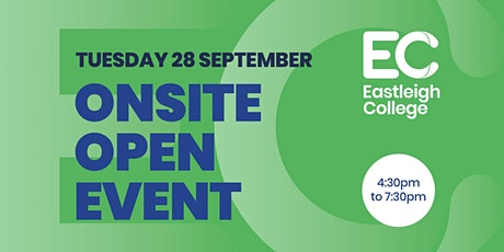 Onsite Open Event Tues 28 September 2021 tickets
