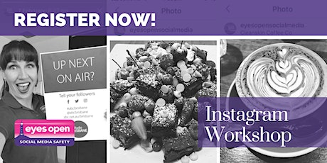 Instagram Workshop for Parents and Youth - Tues 12th October 2021 tickets