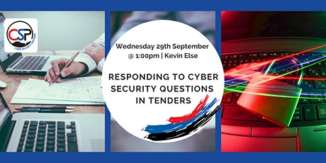 Responding to Cyber Security Questions in Tenders tickets