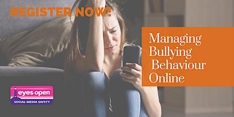 Managing Bullying Behaviour on Instagram & Snapchat - Wed 13th October 2021 tickets