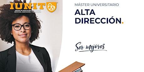 Máster Universitario en Alta Dirección 2021-2022 tickets