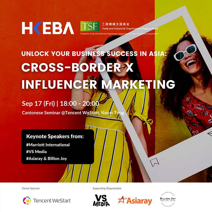 Unlock your business success in Asia: Cross-border x Influencer Marketing image