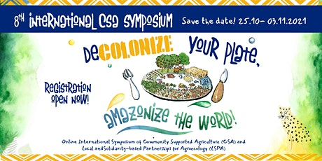 Decolonize your plate, amazonize the world! tickets