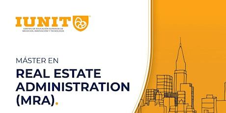 Máster Universitario en Real Estate Administration (MRA) 2021-2022 entradas