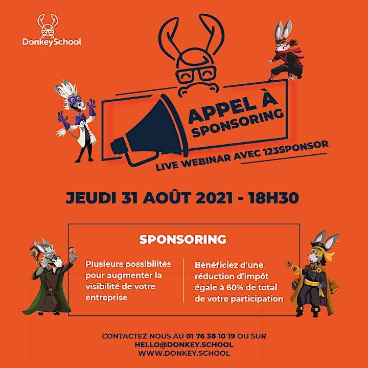 DonkeySchool, une école pas comme les autres... Appel à sponsoring image