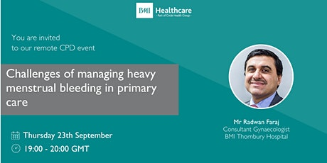 Challenges of managing heavy menstrual bleeding in primary care tickets