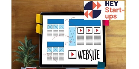 Masterclass - Create a Website to Raise Your Profile tickets