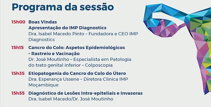 """imagem IMP Webinar """"Cancro do Colo do Útero: Novas perspetivas"""""""