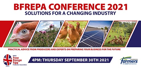 BFREPA Conference 2021 - Solutions for a Changing Industry tickets