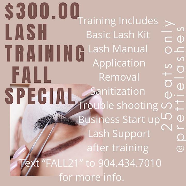 Prettie Lashes FALL 21 Lash Training. image