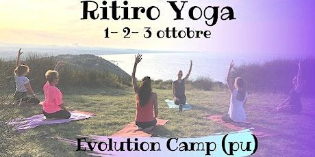 RITIRO YOGA & MEDITAZIONE  - Evolution Camp biglietti