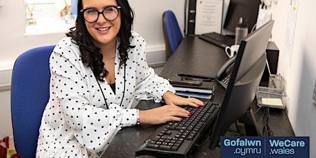 Porthol Cyflogwyr Gofalwn Cymru / WeCare Wales Employers Portal tickets