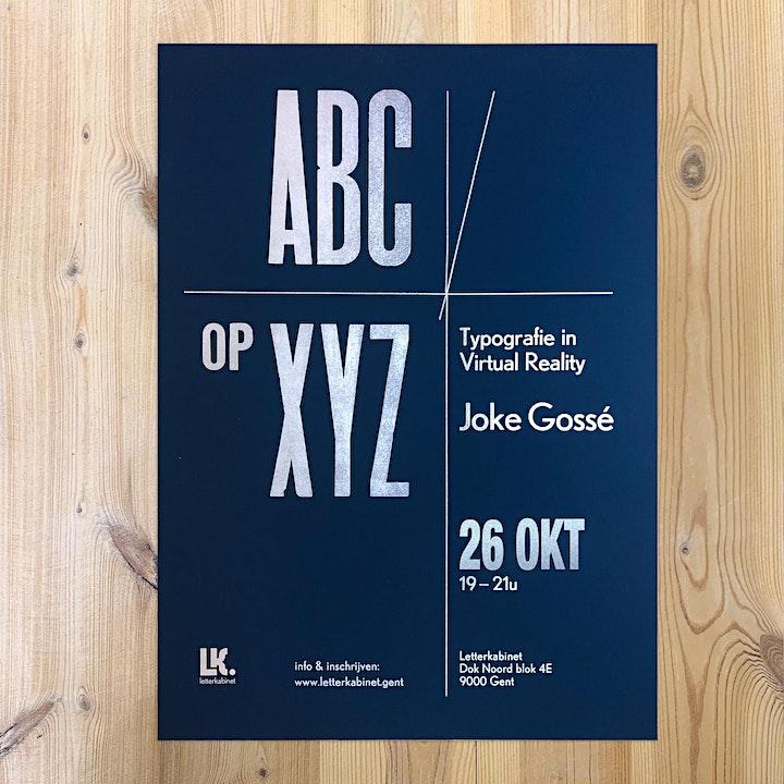 Afbeelding van 'ABC op XYZ' lezing met Joke Gossé