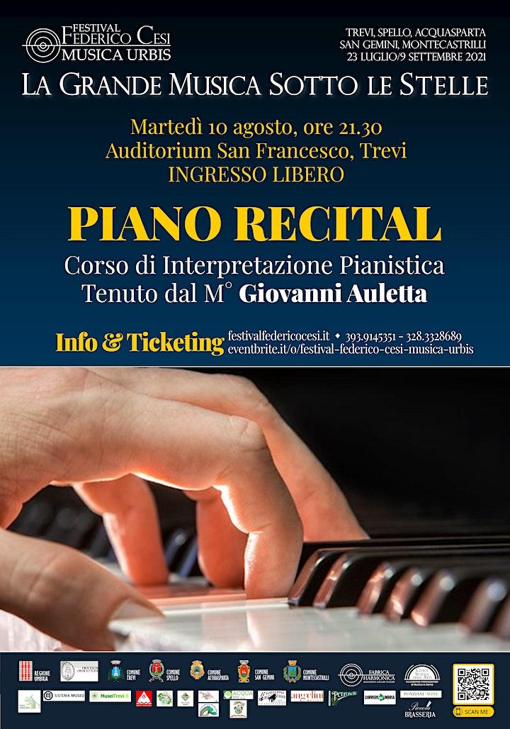Immagine Piano Recital