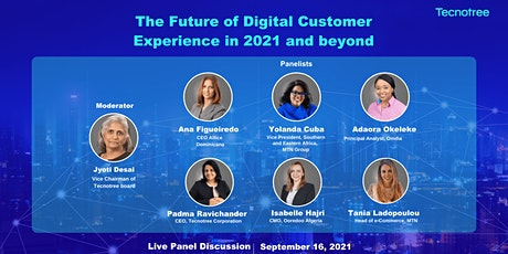 The Future of Digital Customer Experience in 2021 and beyond tickets