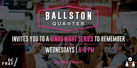 Bingo Night at Ballston Quarter with DC Fray tickets