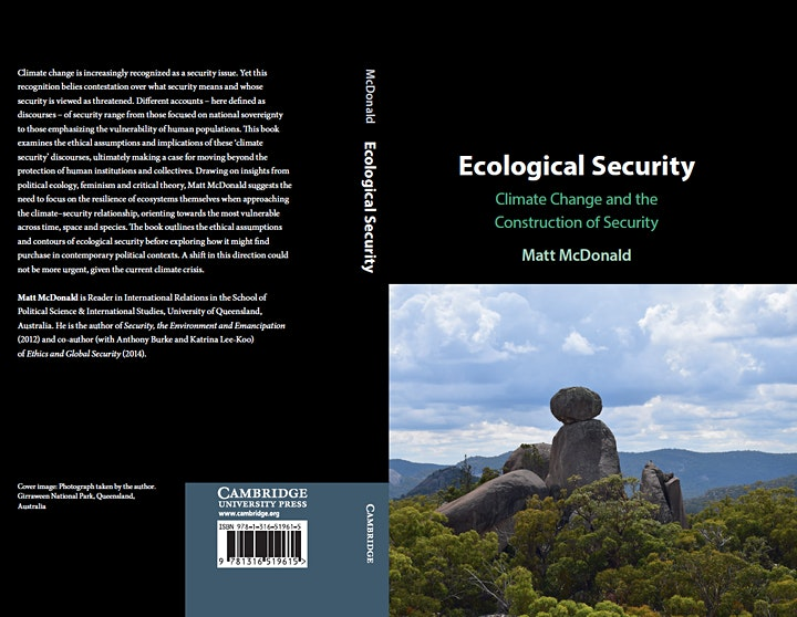 Ecological Security: Climate Change and the Construction of Security image