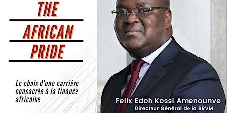 Félix Edoh Kossi Amenounve:  Le choix d'une carrière consacrée à la finance billets