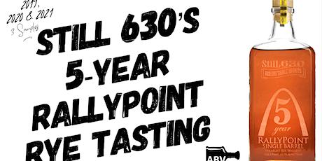 StilL 630 (STL) Award-Winning 5-Year Rallypoint Rye Tasting - 3 Samples tickets