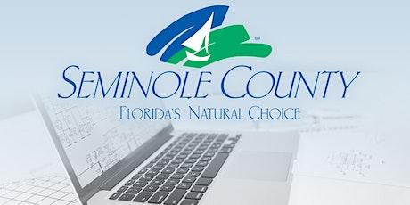 FREE  Seminole County ePlan ProjectDox Q&A tickets