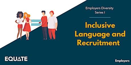 Inclusive Recruitment tickets