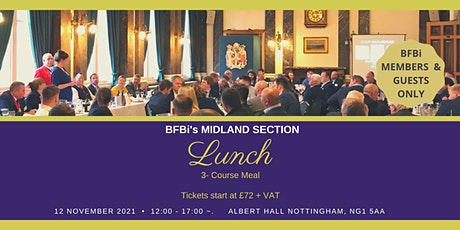 BFBi Midland Section Lunch tickets