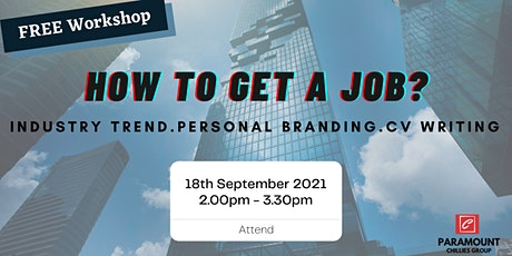 FREE Workshop: How to Get A Job tickets