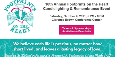 10th Annual Footprints on the Heart Candlelighting and Remembrance Event tickets
