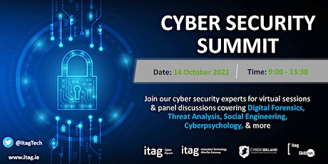 Cyber Security Summit tickets