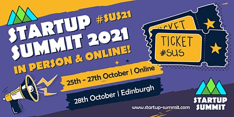 Startup Summit 2021 - All Access: In-person & Online tickets