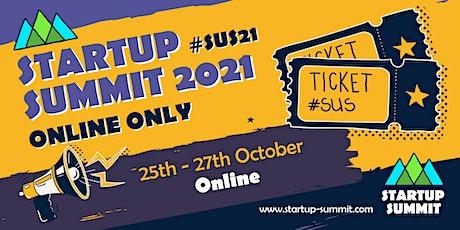 Startup Summit 2021 - Online Only boletos