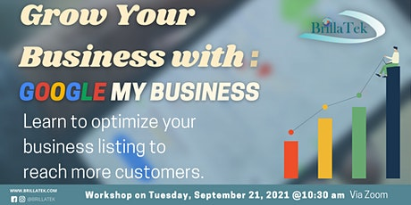 Grow Your Business with Google My Business tickets