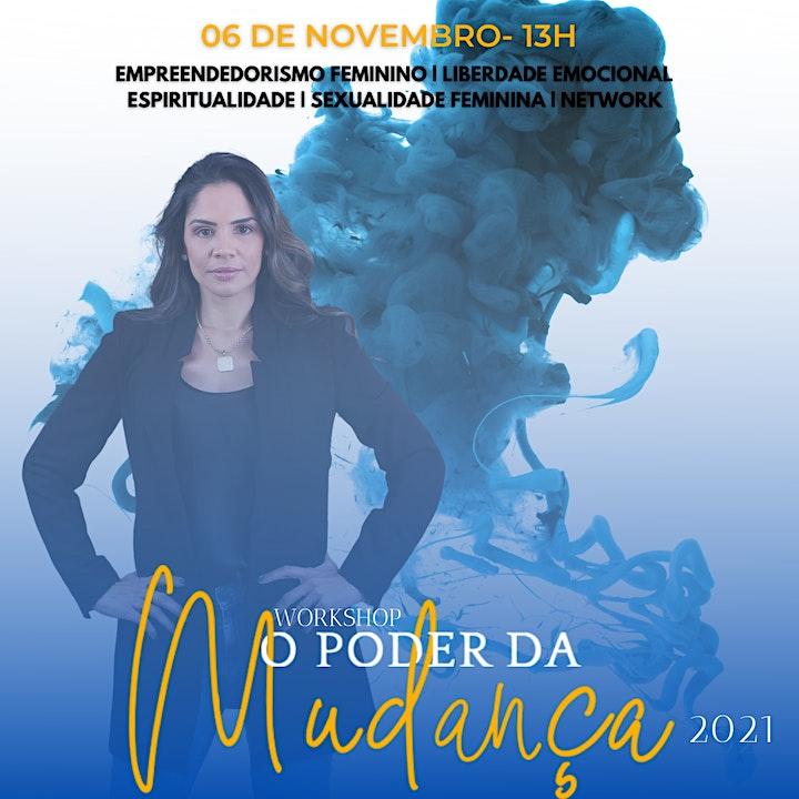 Imagem do evento WORKSHOP O PODER DA MUDANÇA 2021