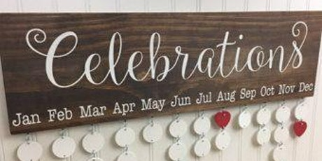 DIY Celebrate Sign tickets