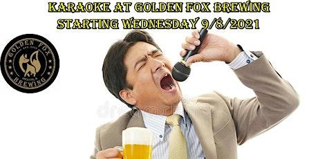 Karaoke at Golden Fox Brewing tickets