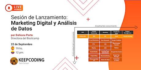 Lanzamiento: Máster Marketing Digital y Análisis de Datos entradas