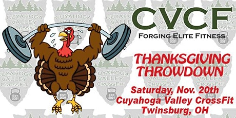 Cuyahoga Valley CrossFit Thanksgiving Throwdown 2021 tickets