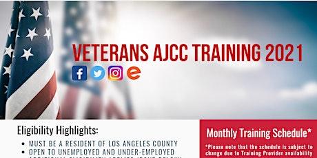 Vocational Training for Veterans  2021 - Virtual Meet tickets