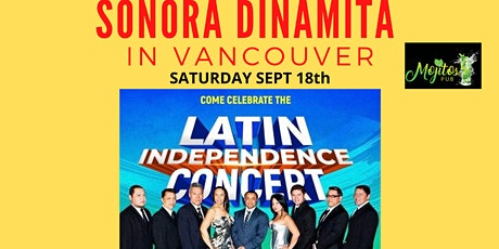 Grand Opening of Mojitos Pub with Sonora Dinamita tickets