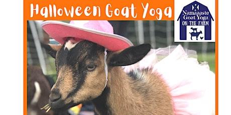 Halloween Goat Yoga on the Farm tickets