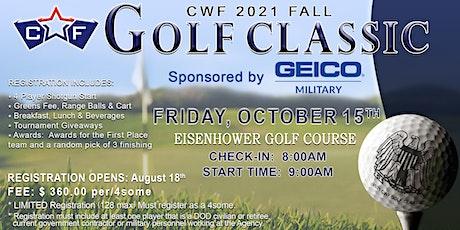 CWF Fall Golf Tournament tickets
