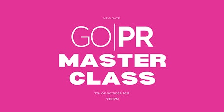 GO:PR Masterclass tickets