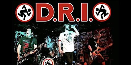 D.R.I. 40 YEAR ANNIVERSARY tickets
