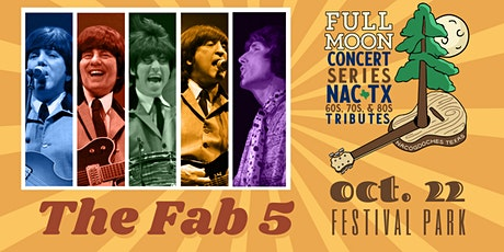 Full Moon Concert - The FAB 5 LIVE in Nacogdoches tickets