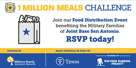 Joint Base San Antonio Area Military Family Drive-Thru Food Distribution tickets