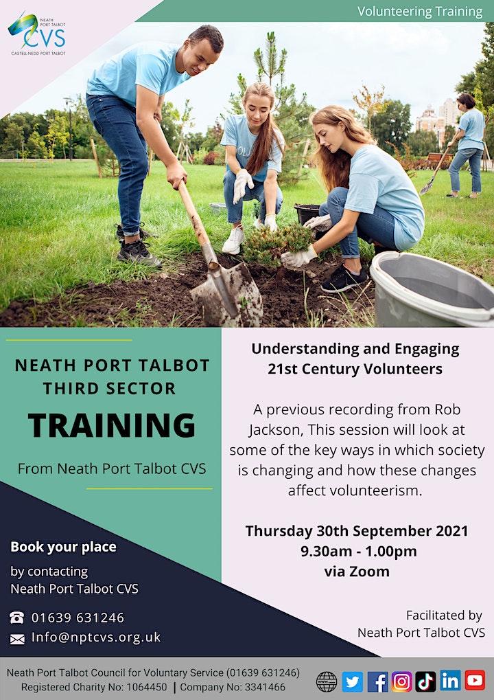 NPTCVS Training - Understanding and Engaging 21st Century Volunteers image