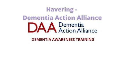 Dementia Awareness Training - Havering Action Dementia Alliance tickets
