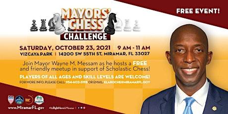 Mayor Messam Chess Challenge tickets