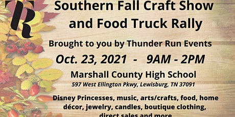 Southern Fall Craft Fair & Food Truck Rally tickets