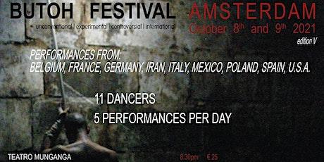 Butoh Festival Amsterdam 8-9 October 2021 tickets